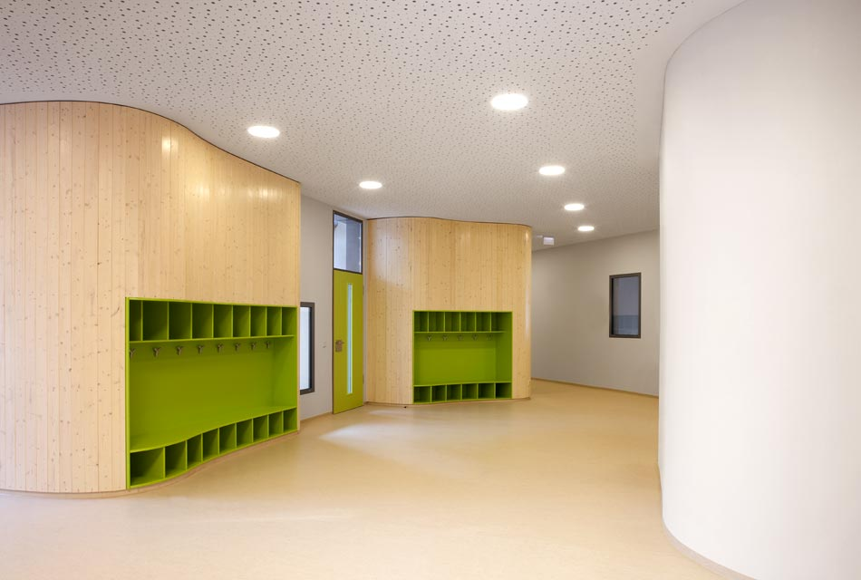 B sing van wickeren for Garderobe kindergarten